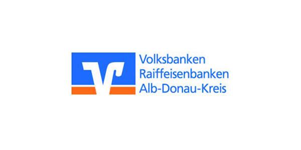 Sponsorenlogo Volksbank Alb-Donau-Kreis